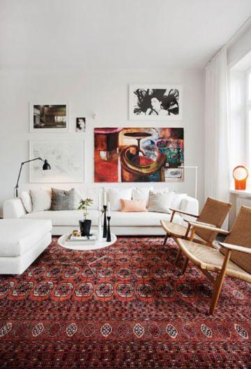Elegant carpet ideas for large living room (38)