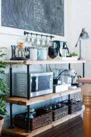 Fantastic home coffee bar design ideas you may try (17)