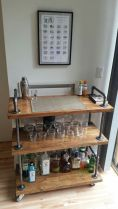 Fantastic home coffee bar design ideas you may try (41)