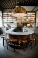 Fantastic home coffee bar design ideas you may try (47)