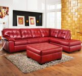 Fantastic red leather sofa designs ideas for family rooms (14)