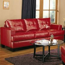 Fantastic red leather sofa designs ideas for family rooms (34)