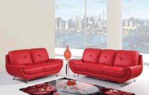 Fantastic red leather sofa designs ideas for family rooms (39)
