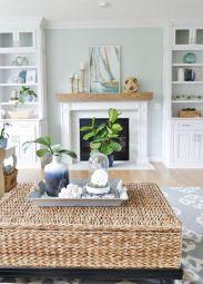Gorgeous coastal living room decor ideas (11)