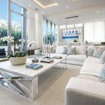 Gorgeous coastal living room decor ideas (21)