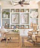 Gorgeous coastal living room decor ideas (46)