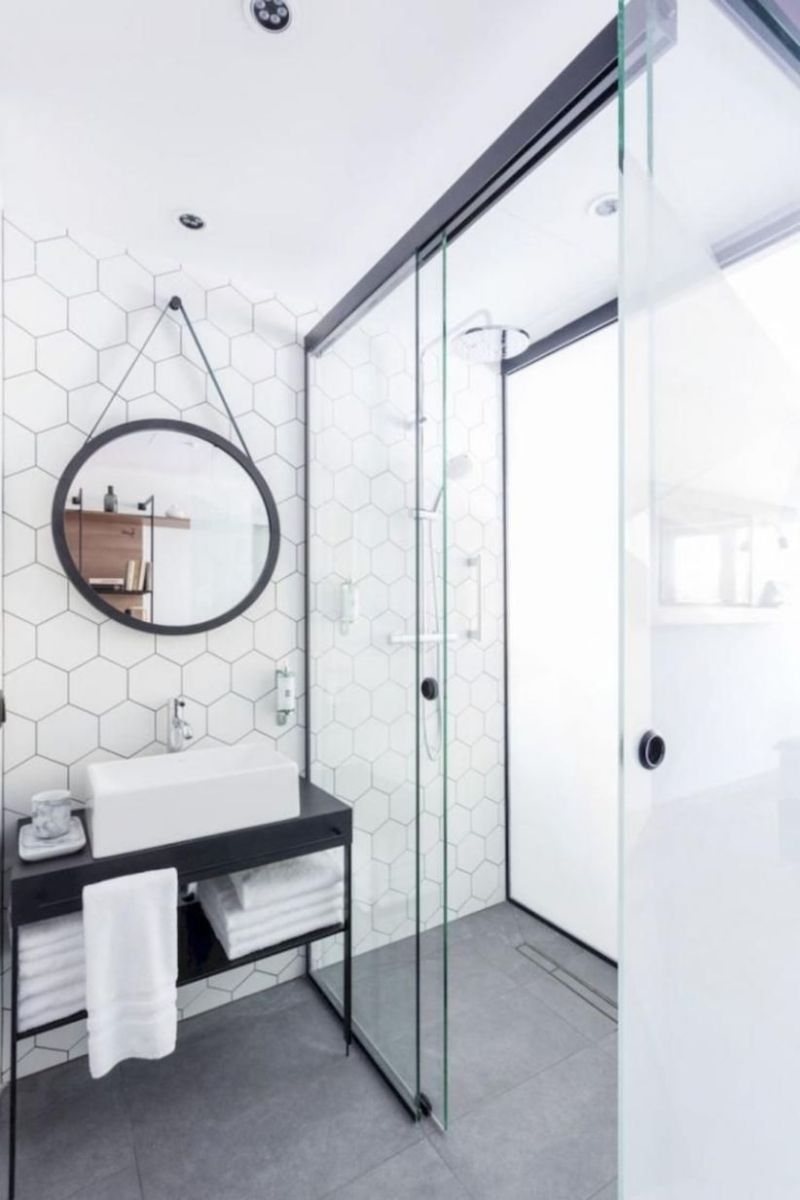 Inspiring scandinavian bathroom design ideas (22)