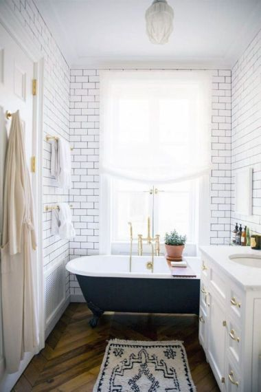 Inspiring scandinavian bathroom design ideas (25)