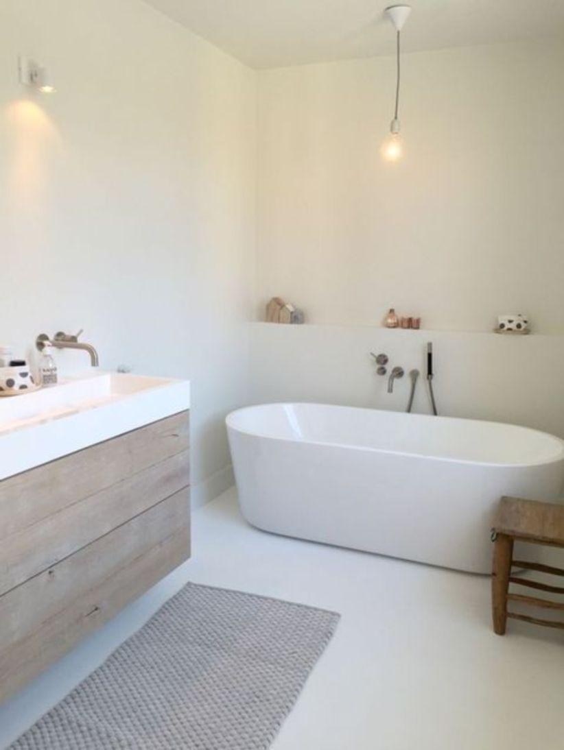 Inspiring scandinavian bathroom design ideas (27)