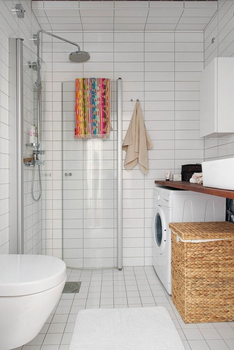 Inspiring scandinavian bathroom design ideas (33)