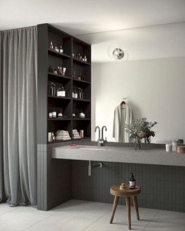Inspiring scandinavian bathroom design ideas (45)