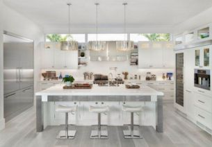 Modern white kitchen design ideas (27)