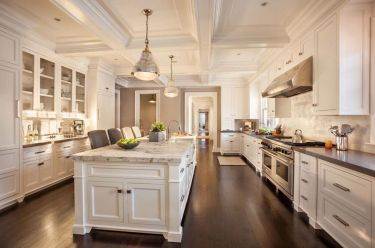 Modern white kitchen design ideas (8)