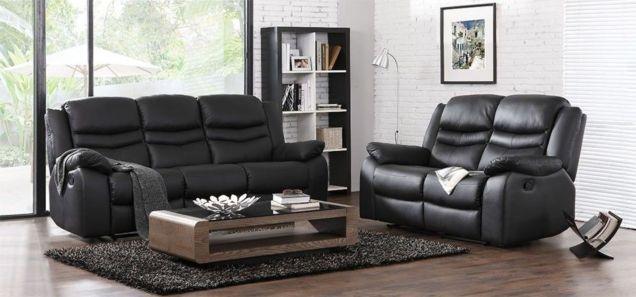 Stunning modern leather sofa design for living room (11)