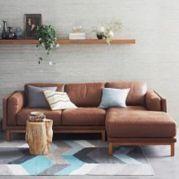 Stunning modern leather sofa design for living room (14)