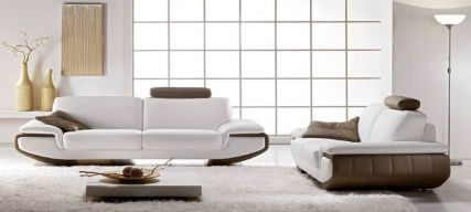 Stunning modern leather sofa design for living room (25)