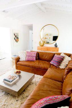 Stunning modern leather sofa design for living room (6)