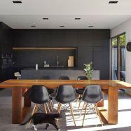 Stylish luxury black kitchen design ideas (24)