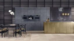 Stylish luxury black kitchen design ideas (39)
