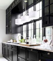 Stylish luxury black kitchen design ideas (40)
