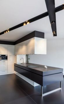 Stylish luxury black kitchen design ideas (5)