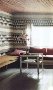 Totally inspiring black and white geometric wallpaper ideas for bedroom (10)