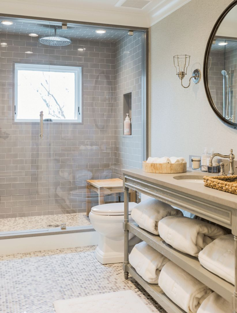 Awesome bathroom tile shower design ideas (21)