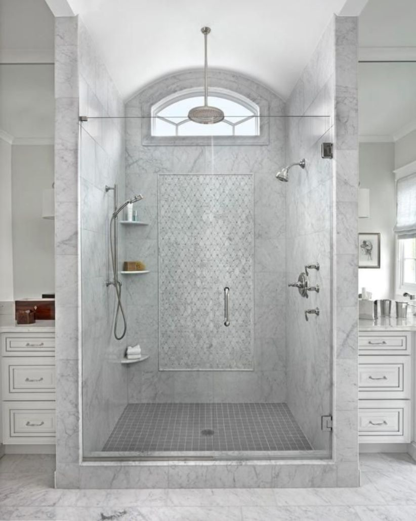 Awesome bathroom tile shower design ideas (22)