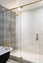 Awesome bathroom tile shower design ideas (9)