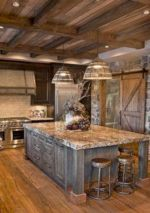 Beautiful rustic kitchen cabinet ideas (10)