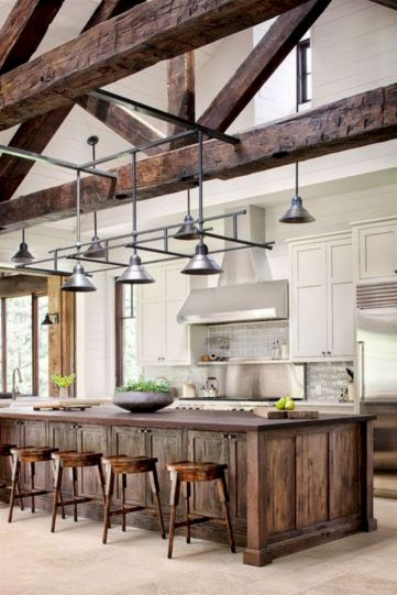 Beautiful rustic kitchen cabinet ideas (12)