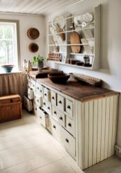 Beautiful rustic kitchen cabinet ideas (37)
