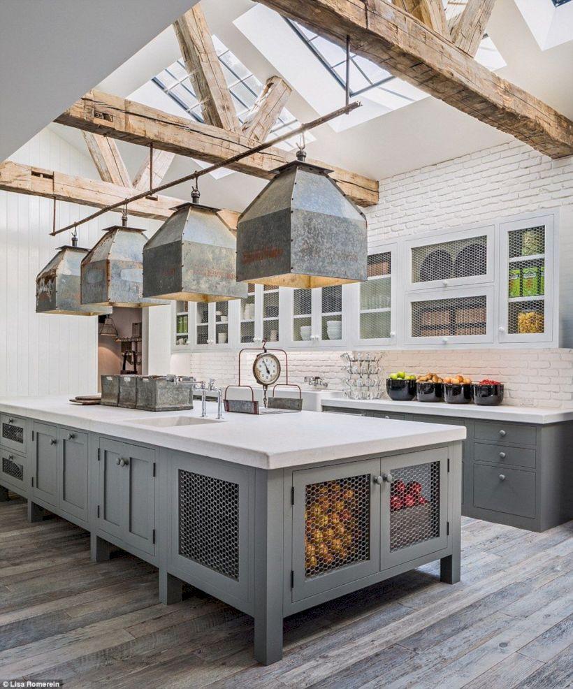 Beautiful rustic kitchen cabinet ideas (4)