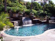 Beautiful small outdoor inground pools design ideas 14