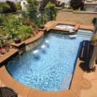 Beautiful small outdoor inground pools design ideas 25