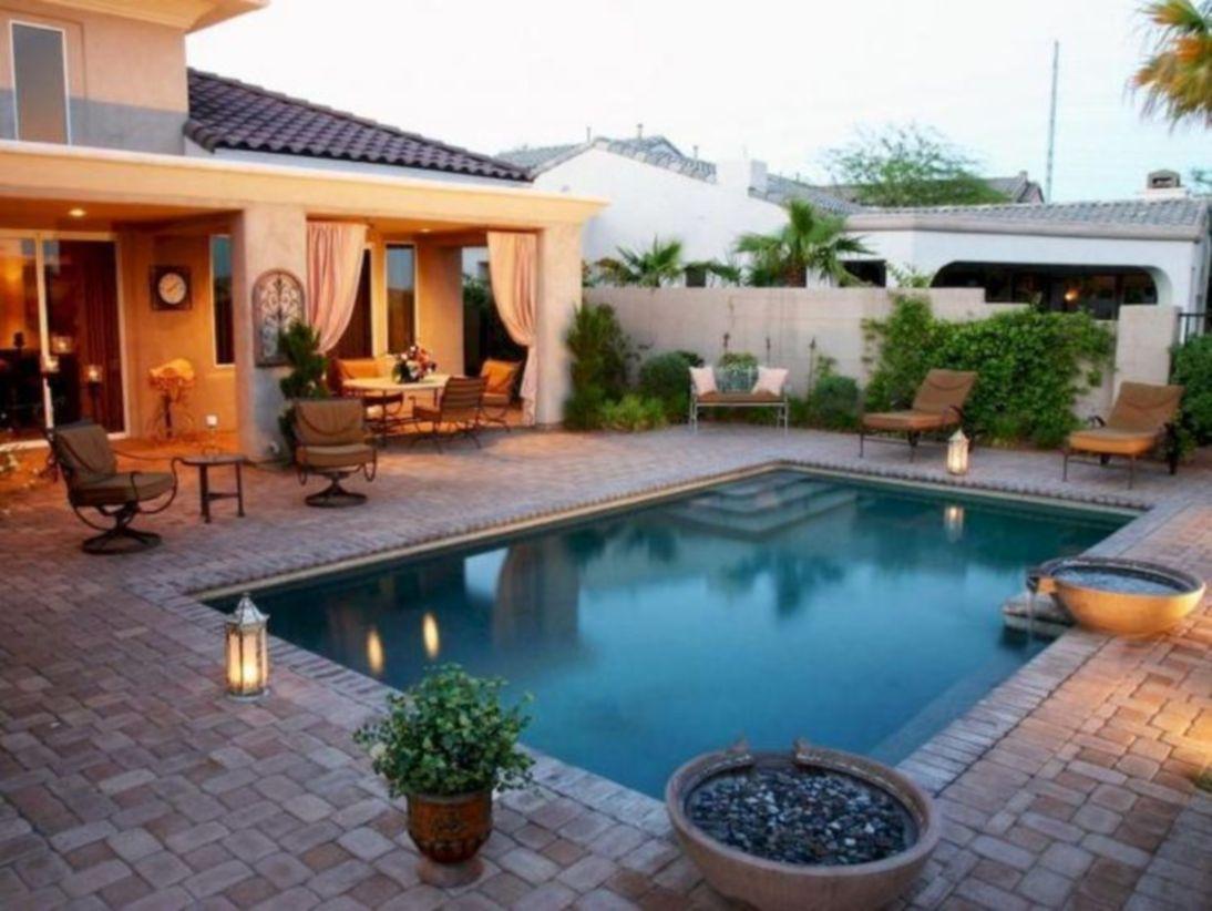 Beautiful small outdoor inground pools design ideas 30
