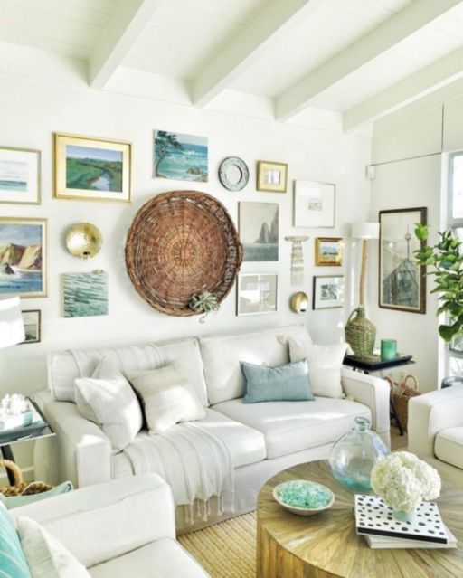 Best rustic coastal decorating ideas for simple home decor 10