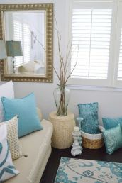 Best rustic coastal decorating ideas for simple home decor 43