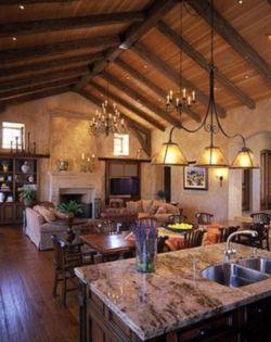 Contemporary italian rustic home décor ideas 09