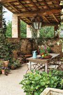 Contemporary italian rustic home décor ideas 30