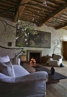 Contemporary italian rustic home décor ideas 41