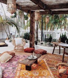 Cozy moroccan patio decor and design ideas (1)