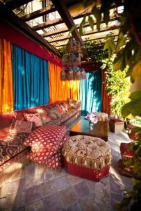 Cozy moroccan patio decor and design ideas (21)