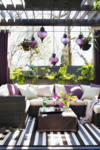 Cozy moroccan patio decor and design ideas (24)