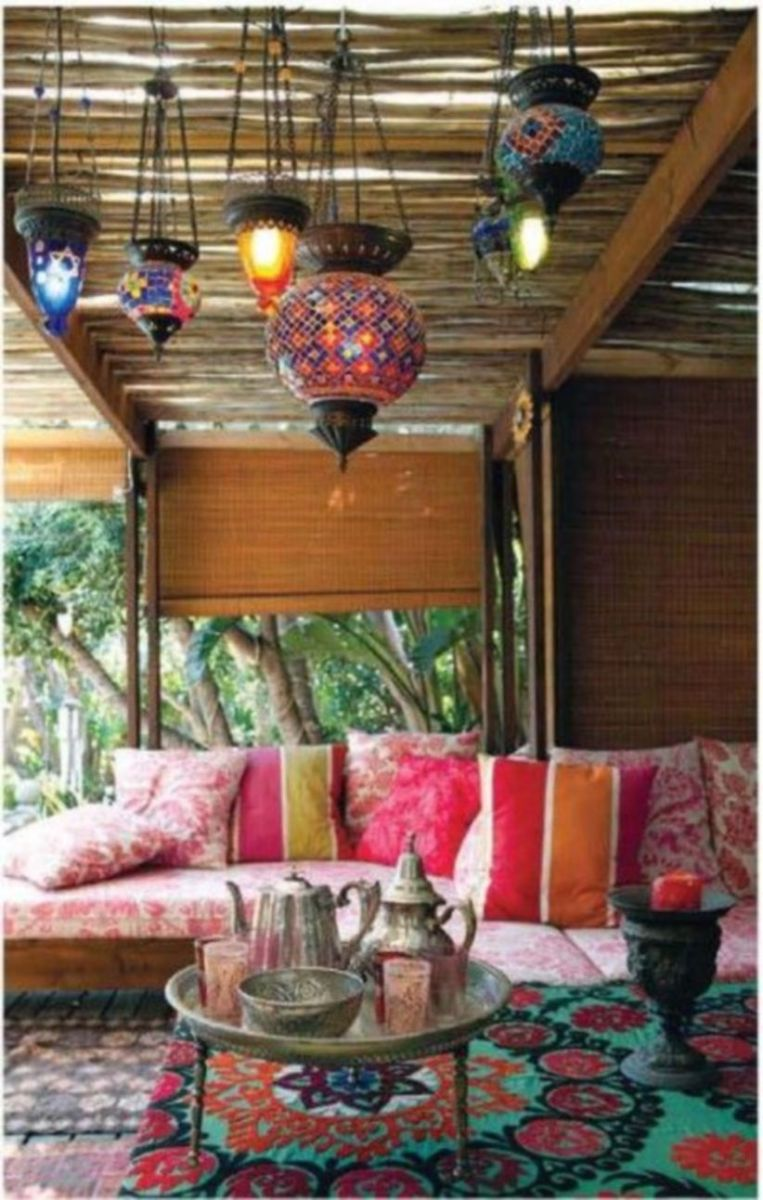 Cozy moroccan patio decor and design ideas (26)