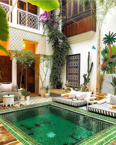 Cozy moroccan patio decor and design ideas (31)