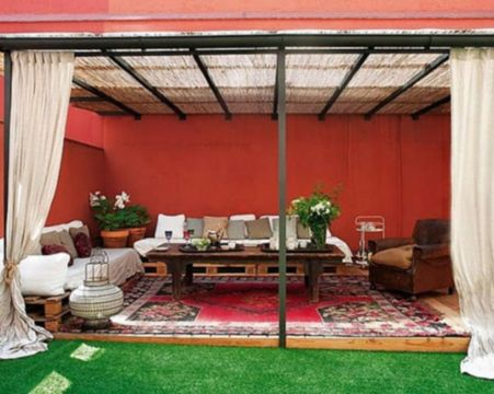 Cozy moroccan patio decor and design ideas (33)