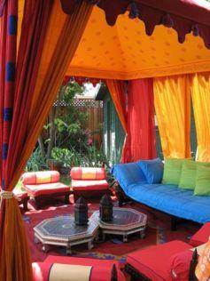 Cozy moroccan patio decor and design ideas (34)