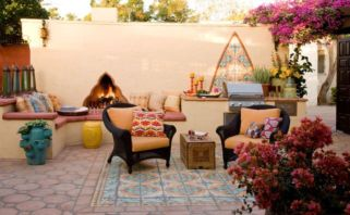 Cozy moroccan patio decor and design ideas (5)