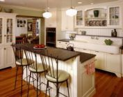Creative kitchen islands stove top makeover ideas (12)